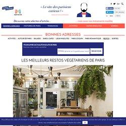 Les meilleurs restos végétariens de Paris