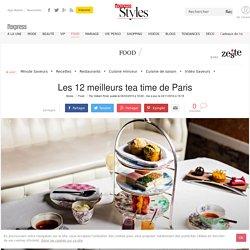 Les douze meilleurs tea time de Paris: Shangri-La, Meurice, Angelina... - L'Express Styles