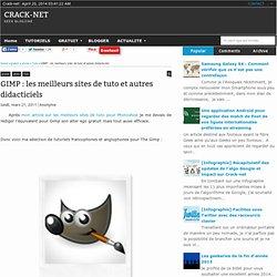 les meilleurs sites de tuto et autres didacticiels ~ Crack-net