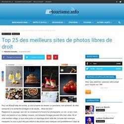 Top 25 des meilleurs sites de photos libres de droit