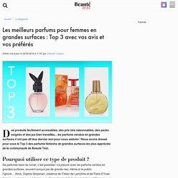 Les meilleurs parfums pour femmes en grandes surfaces: Top 3 avec vos avis et vos préférés