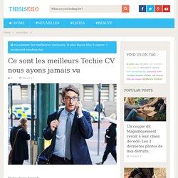 Ce sont les meilleurs Techie CV nous ayons jamais vu - Thisisego.com