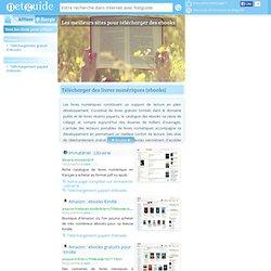 Téléchargement - livres numériques - ebooks