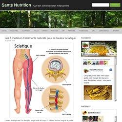 Les 8 meilleurs traitements naturels pour la douleur sciatique
