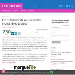 Les 5 meilleurs sites où trouver des images libres de droits