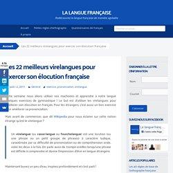 Les 22 meilleurs virelangues : exercice d'élocution française