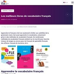 Les meilleurs livres pour apprendre le vocabulaire français