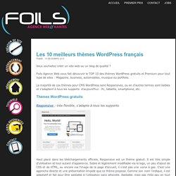 Les 10 meilleurs thèmes WordPress français