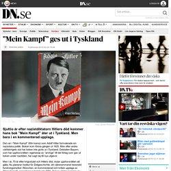 """Mein Kampf"" ges ut i Tyskland"