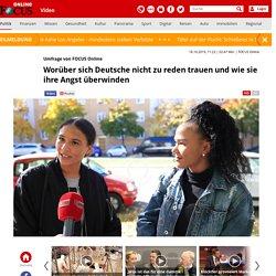 1. Umfrage: Worüber sich Deutsche nicht zu reden trauen