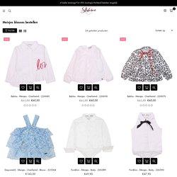 Mooie meisjes blouse bestellen bestel je bij Stylonic□