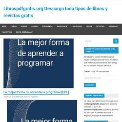 La mejor forma de aprender a programar [PDF]