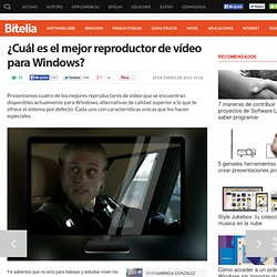 El mejor reproductor de vídeo para Windows