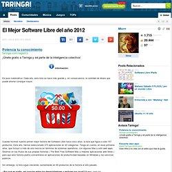 El Mejor Software Libre del año 2012