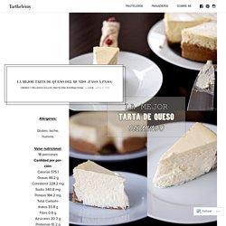 La mejor tarta de queso del mundo (paso a paso) – Tarthélémy
