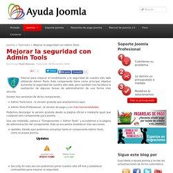 Mejorar la seguridad con Admin Tools