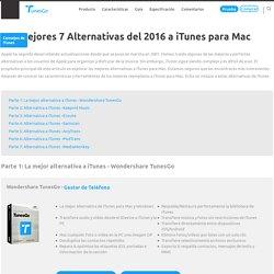 Las mejores 7 Alternativas del 2016 a iTunes para Mac