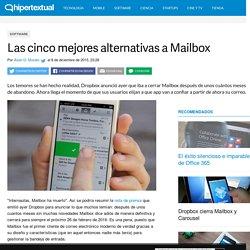 Las cinco mejores alternativas a Mailbox