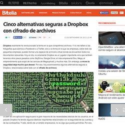 Mejores alternativas seguras a Dropbox