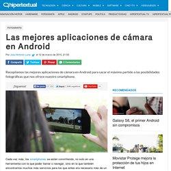 Las mejores aplicaciones de cámara en Android