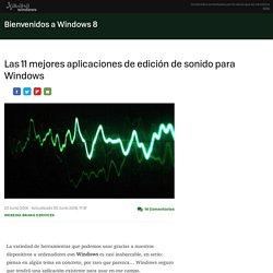 Las 11 mejores aplicaciones de edición de sonido para Windows