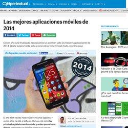 Mejores aplicaciones móviles de 2014