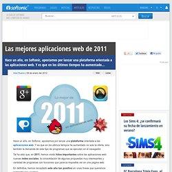 Las mejores aplicaciones web de 2011