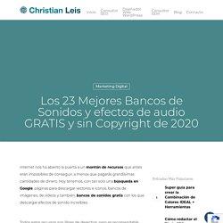 □Los 23 mejores Bancos de Sonidos y Efectos → GRATIS