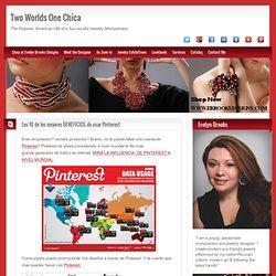 Los 10 de los mejores BENEFICIOS de usar Pinterest Two Worlds One Chica