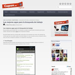 Las mejores apps para la búsqueda de trabajo – Magazin