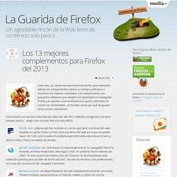 Los 13 mejores complementos para Firefox del 2013