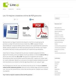Los 10 mejores creadores online de PDF gratuitos
