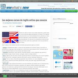 Los mejores cursos de inglés online que conozco