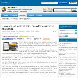 Estos son los mejores sitios para descargar libros en español
