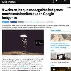 Webs mejores que Google para descargar imágenes bonitas
