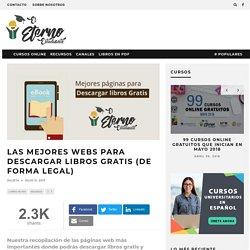 Mejores webs para descargar libros gratis (de forma legal)