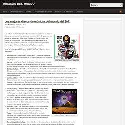 Los mejores discos de músicas del mundo del 2011