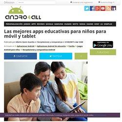 Las mejores apps educativas para niños para móvil y tablet