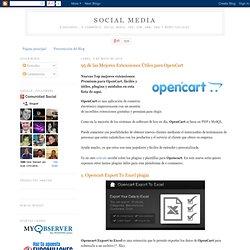 Social Media: 95 de las Mejores Extensiones Útiles para OpenCart