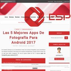 Apps de fotografía para Android
