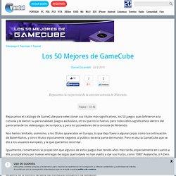 Los 50 Mejores de GameCube - Especial