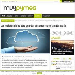 Los mejores sitios para guardar documentos en la nube gratis