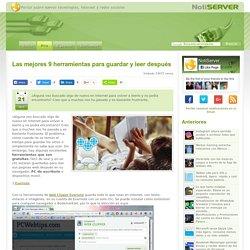 9 Herramientas para guardar y leer después Paginas Web
