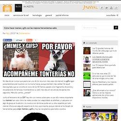 Cómo hacer memes y gifs con las mejores herramientas webs