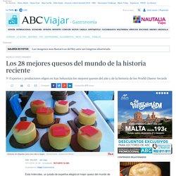 WORLD CHEES AWARDS: Los 28 mejores quesos del mundo de la historia reciente