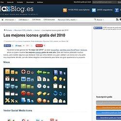 Los mejores iconos gratis del 2010