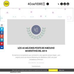 Los 40 mejores posts de Inbound Marketing del 2014