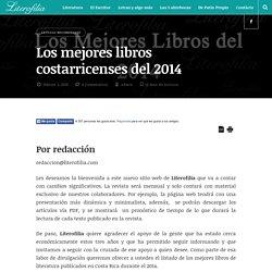 Los mejores libros costarricenses del 2014