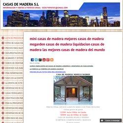 CASAS DE MADERA S.L - mini casas de madera mejores casas de madera mcgarden casas de madera liquidacion casas de madera las mejores casas de madera del mundo