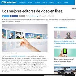 Los mejores opciones para editar video online